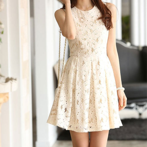 how to make a ruffled skater dress