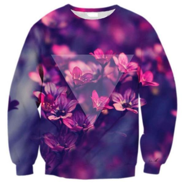 Printed Fashion Sweater